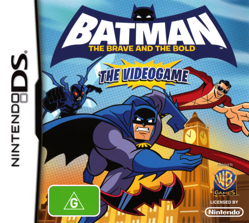 Batman: The Brave and The Bold - The Videogame Nintendo DS Front Cover