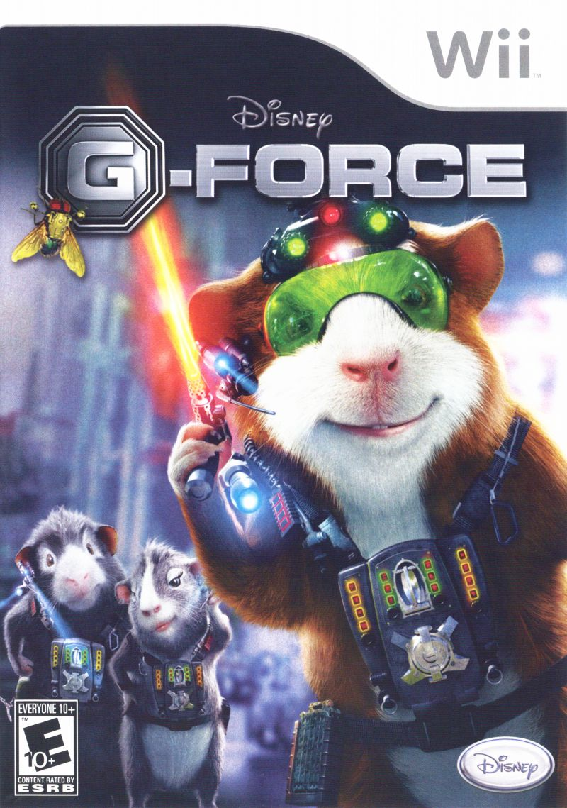 Disney G Force For Wii 2009 Mobygames