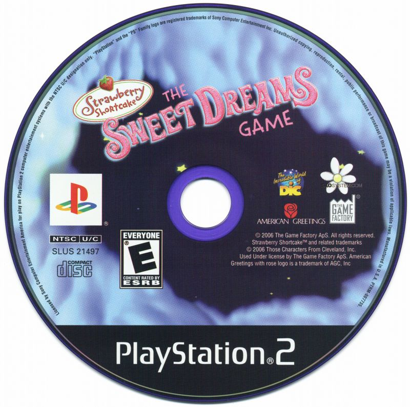 Strawberry Shortcake: The Sweet Dreams Game PlayStation 2 Media