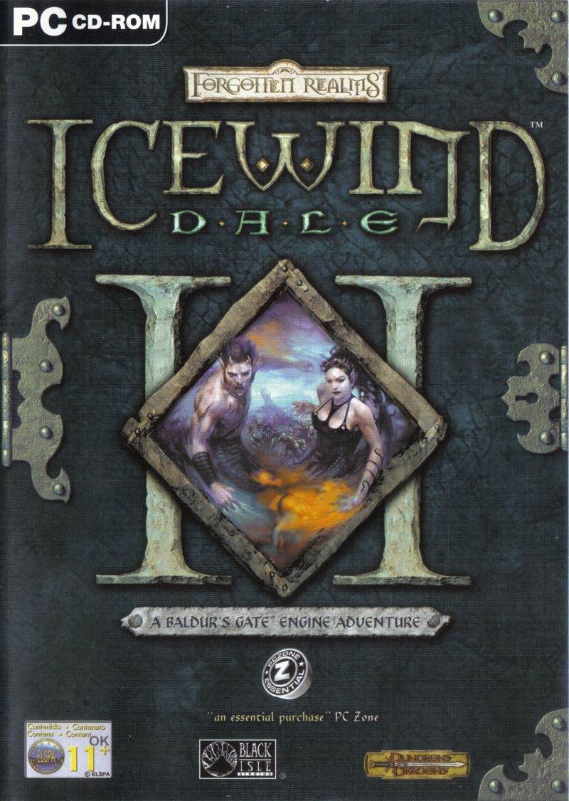 Icewind Dale II Windows Front Cover