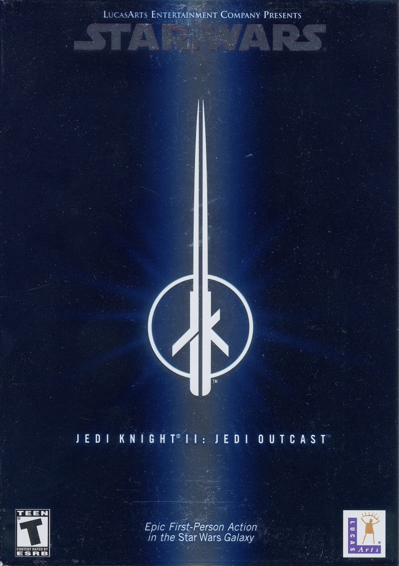 Star Wars: Jedi Knight II - Jedi Outcast Windows Front Cover