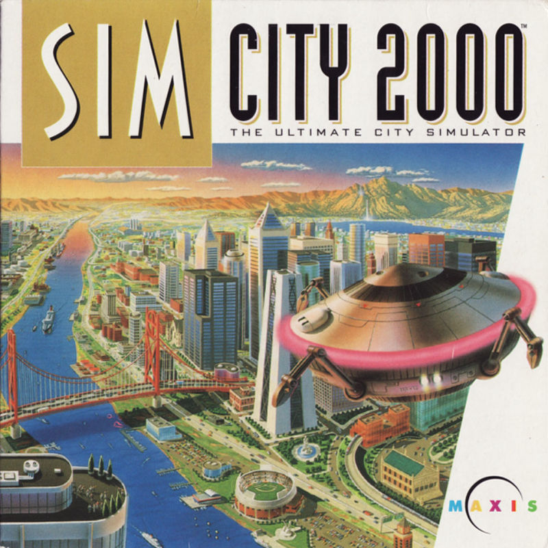 SimCity 2000: Includes Scenarios Volume 1 Great Disasters DOS Other CD Sleeve - Front