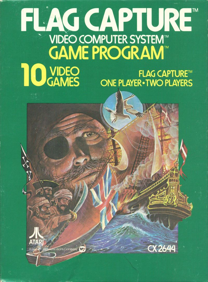 Flag Capture for Atari 2600 (1978) - MobyGames