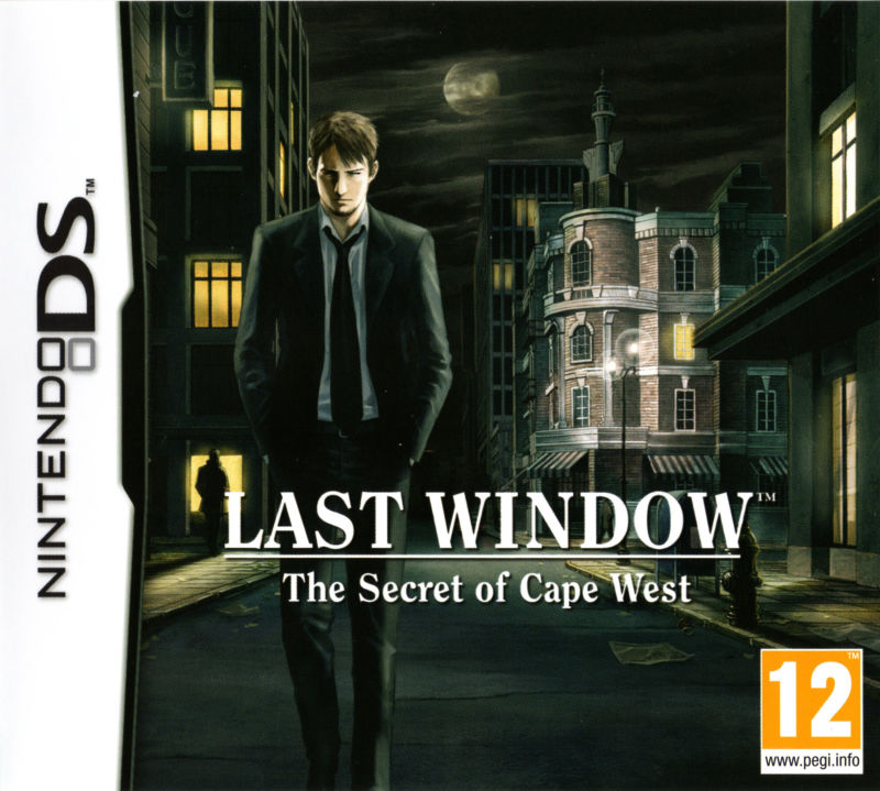 Last Window: The Secret of Cape West Nintendo DS Front Cover