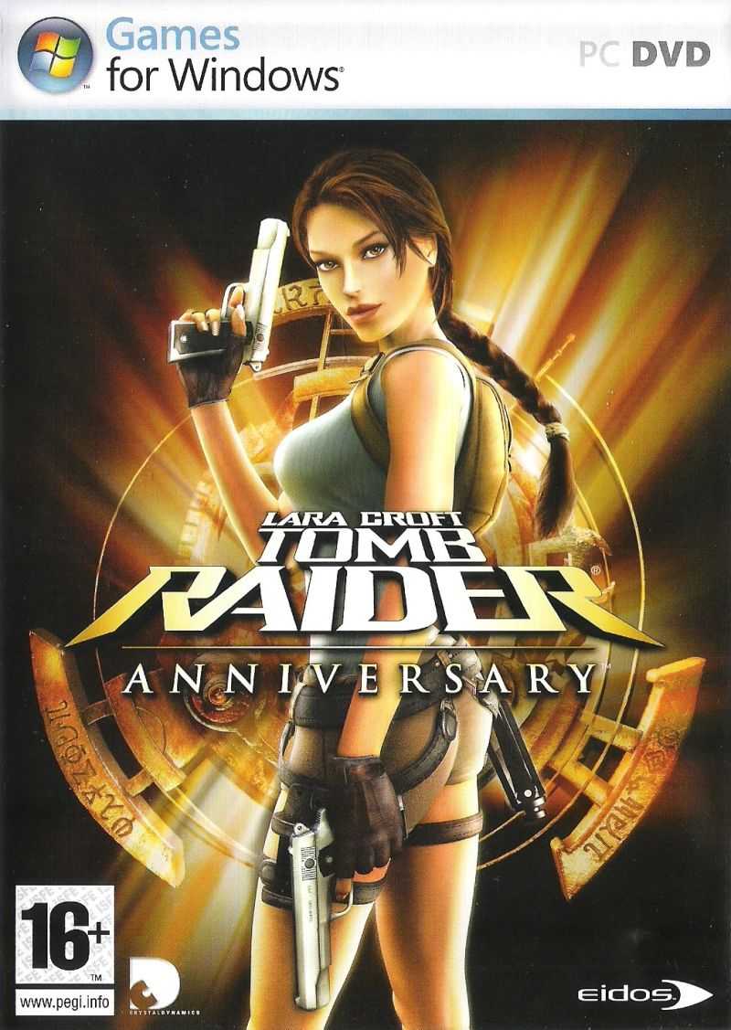 Lara Croft: Tomb Raider - Anniversary Windows Front Cover