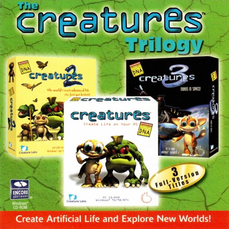 The Creatures Trilogy Windows Front Cover