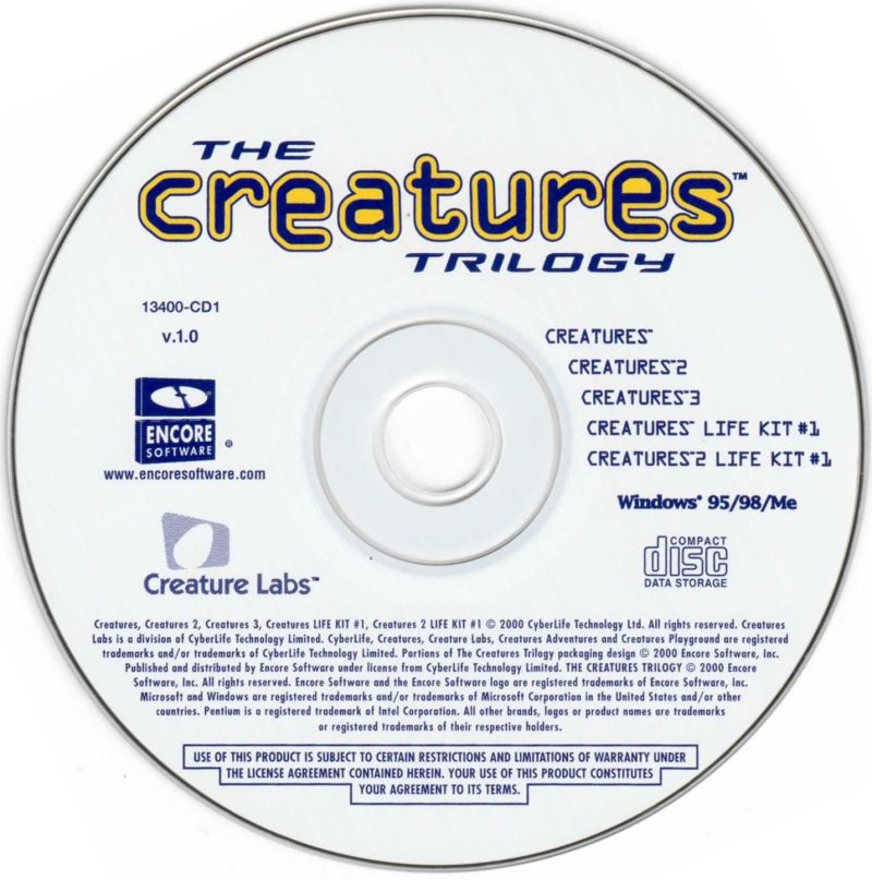 The Creatures Trilogy Windows Media