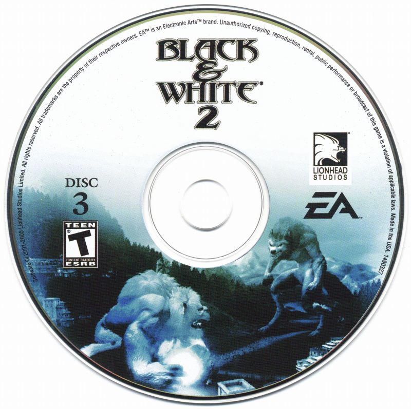 Black & White 2 Windows Media Disc 3