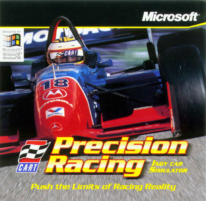 CART Precision Racing Windows Front Cover