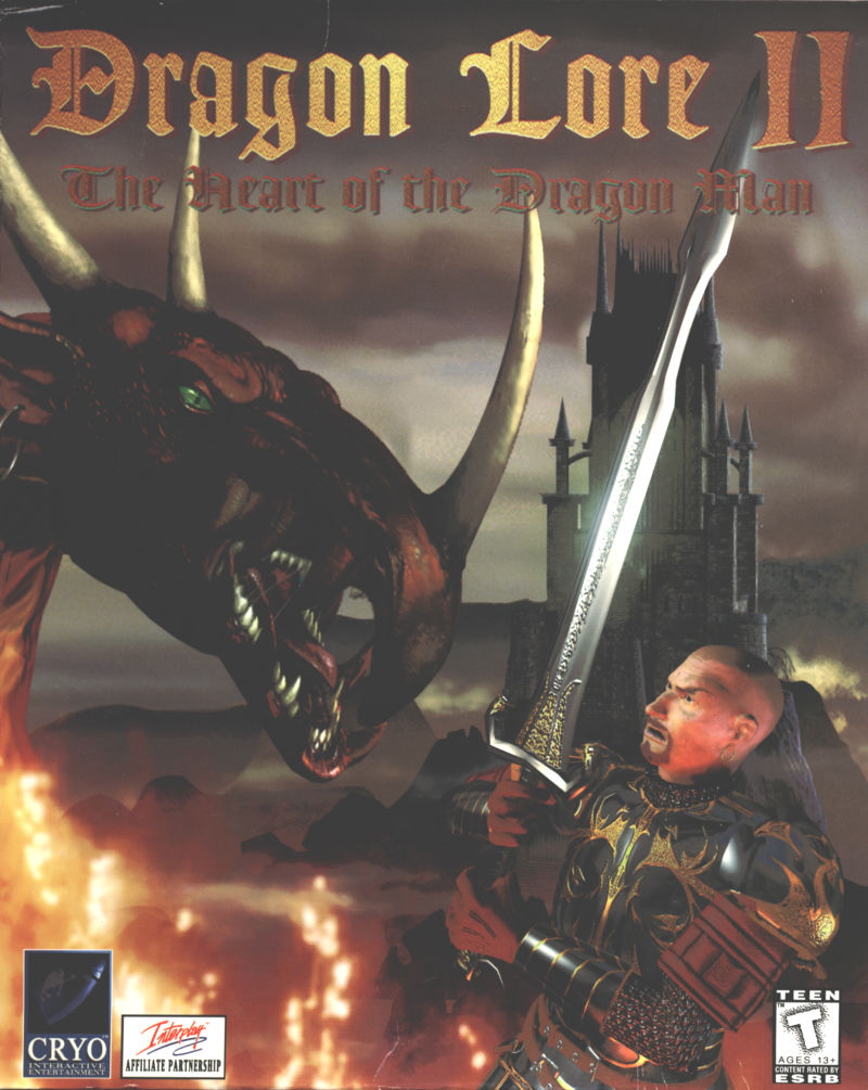 Dragon Lore II: The Heart of the Dragon Man DOS Front Cover