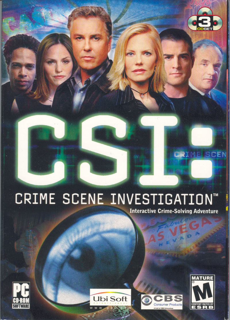 CSI: Crime Scene Investigation Windows Front Cover