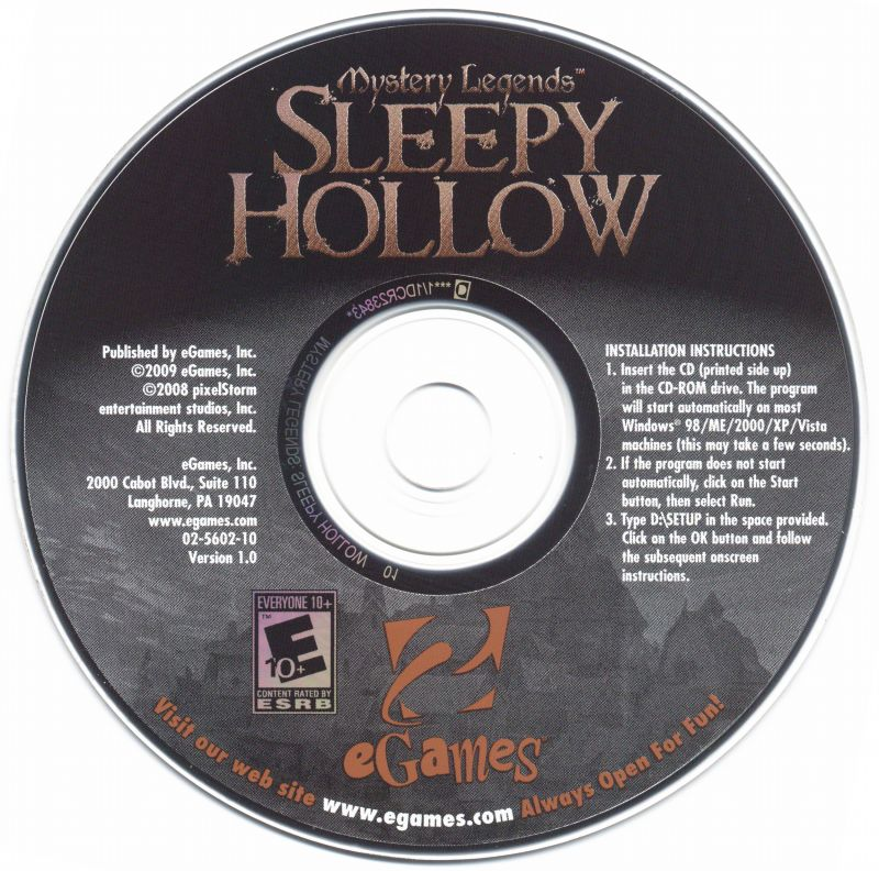 Mystery Legends: Sleepy Hollow Windows Media