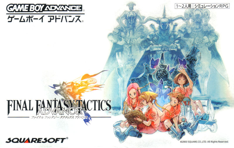 Final Fantasy Tactics Advance (Deluxe Pack) Game Boy Advance Other Game Box - Front