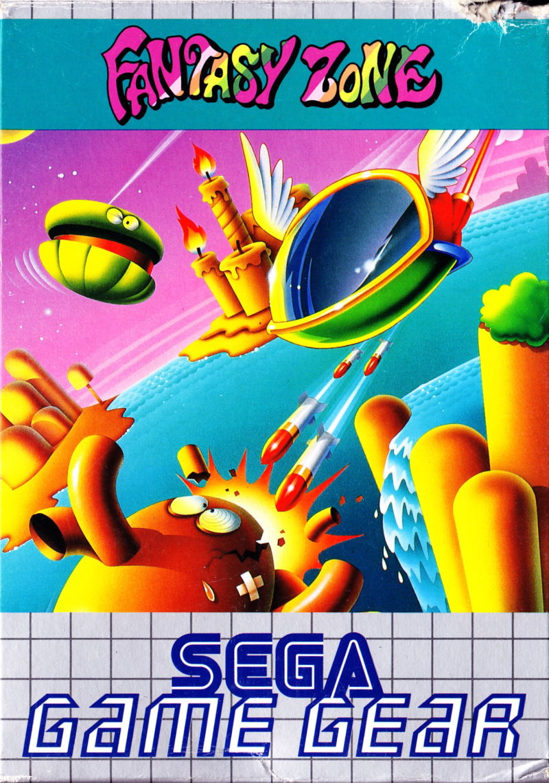 Book Cover Fantasy Zone : Fantasy zone for game gear mobygames