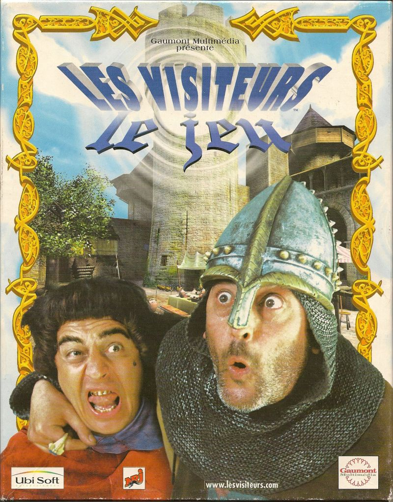 Les Visiteurs: Le Jeu Windows Front Cover