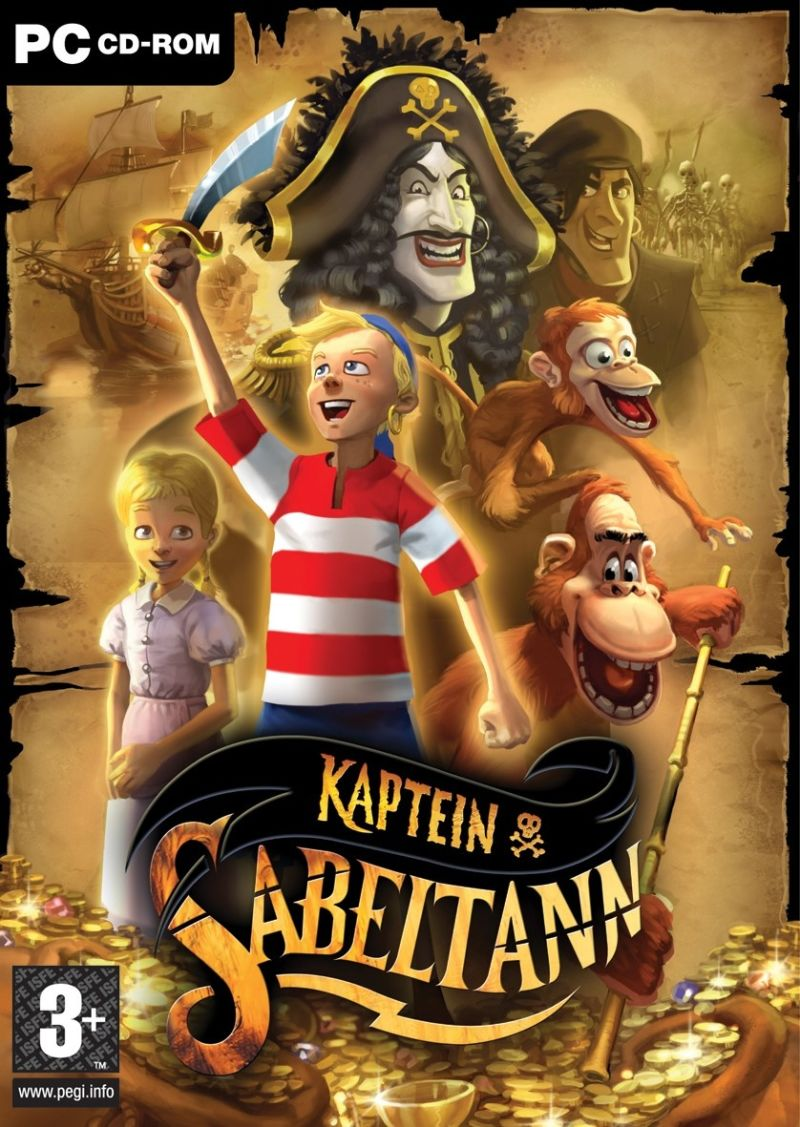 Kaptein Sabeltann Windows Front Cover