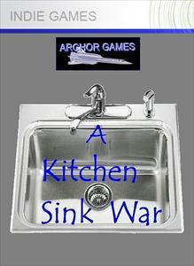 A Kitchen Sink War Xbox 360 Front Cover 1st version