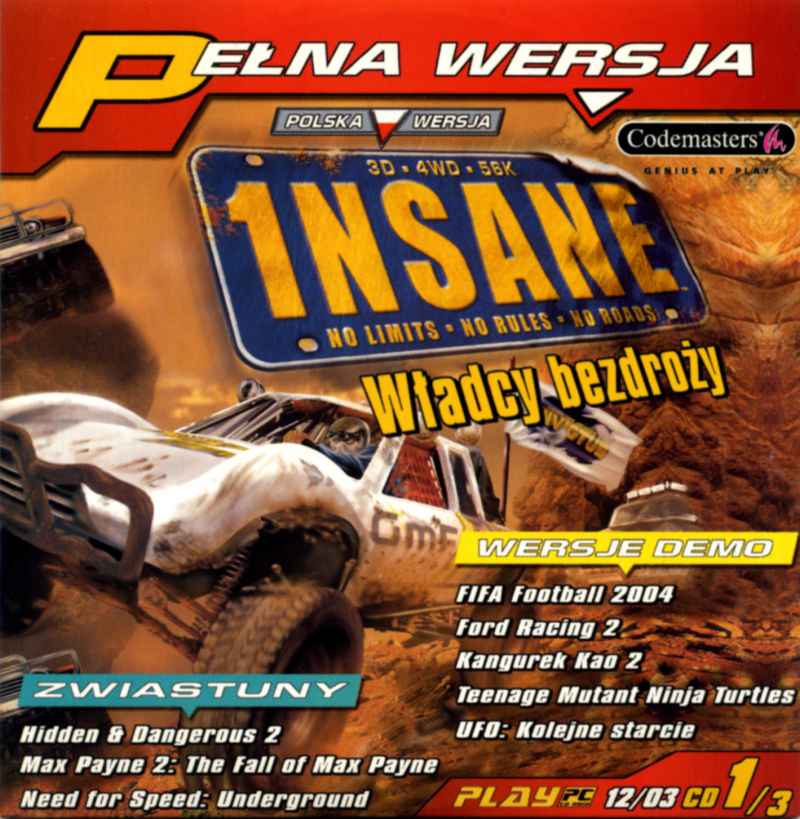 1NSANE Windows Front Cover