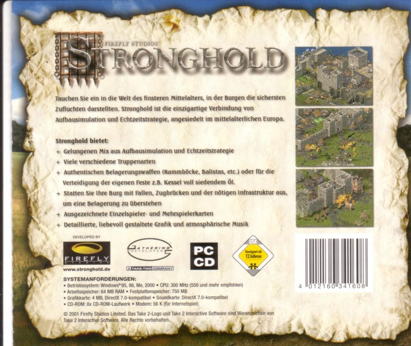 FireFly Studios' Stronghold Windows Other Jewel Case - Back