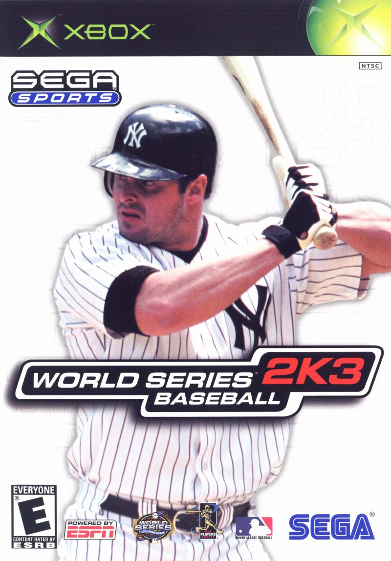 World Series Baseball 2K3 Xbox Front Cover