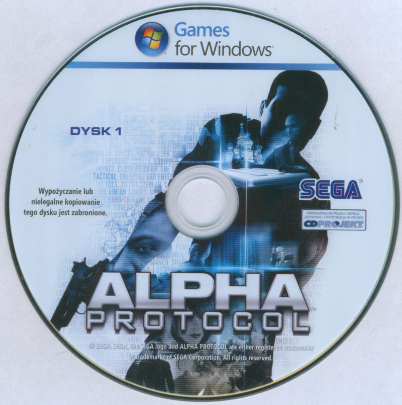 Alpha Protocol Windows Media DVD 1/2