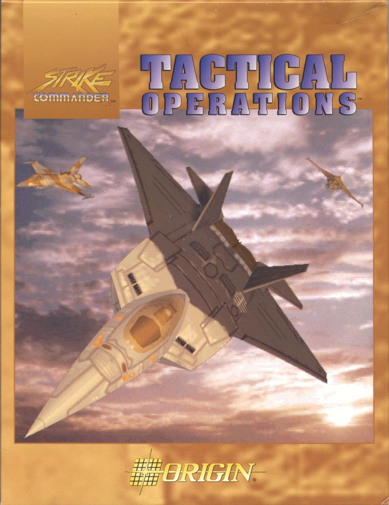Strike Commander: Tactical Operations DOS Front Cover