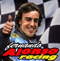 Fernando Alonso Racing DoJa Front Cover