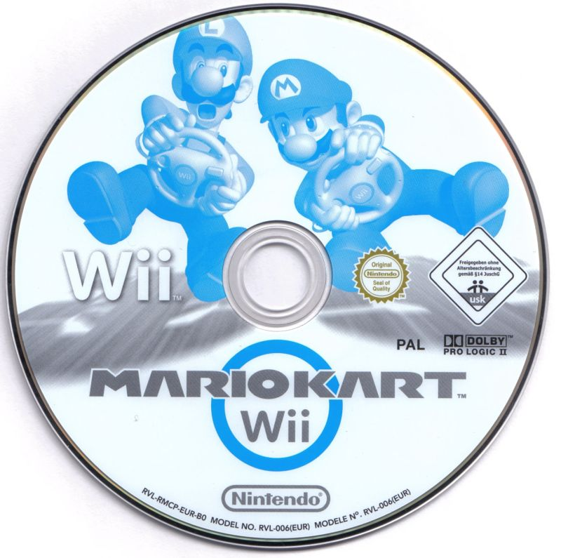 Mario kart wii cover