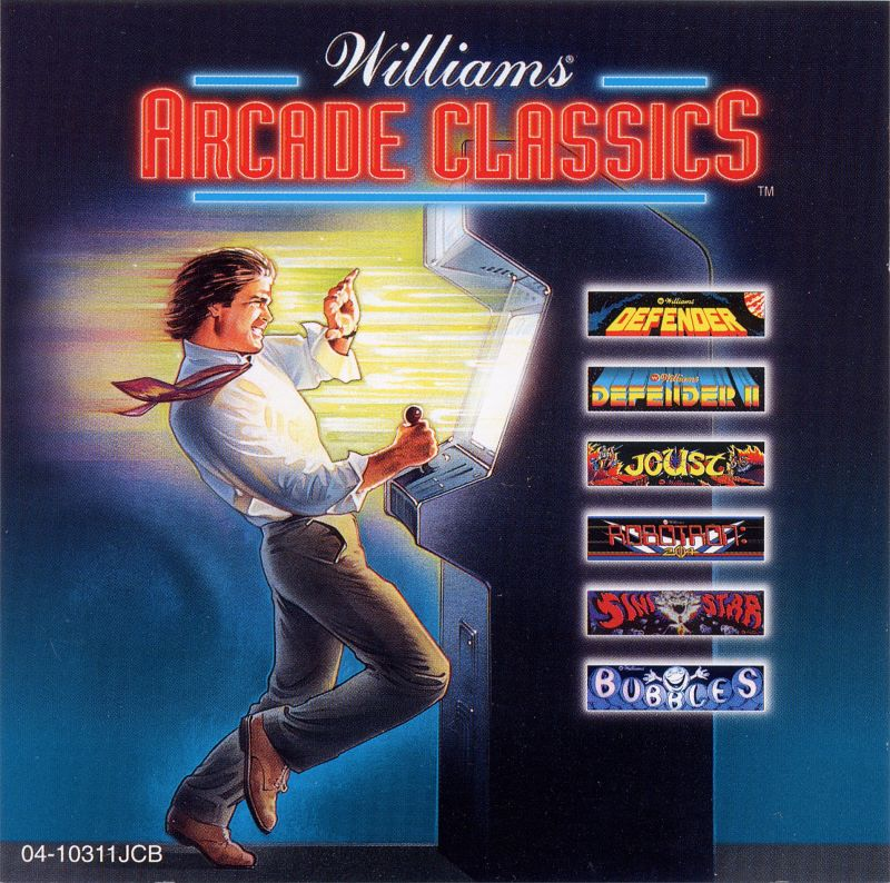 Williams Arcade Classics DOS Other Jewel Case - Front