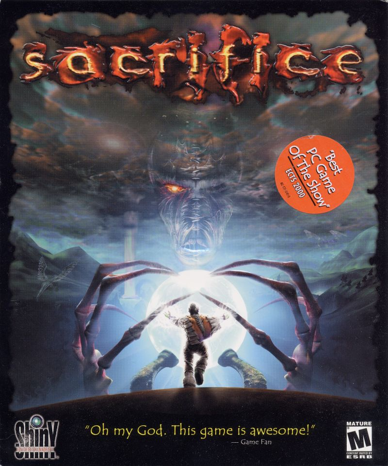 Sacrifice Windows Front Cover