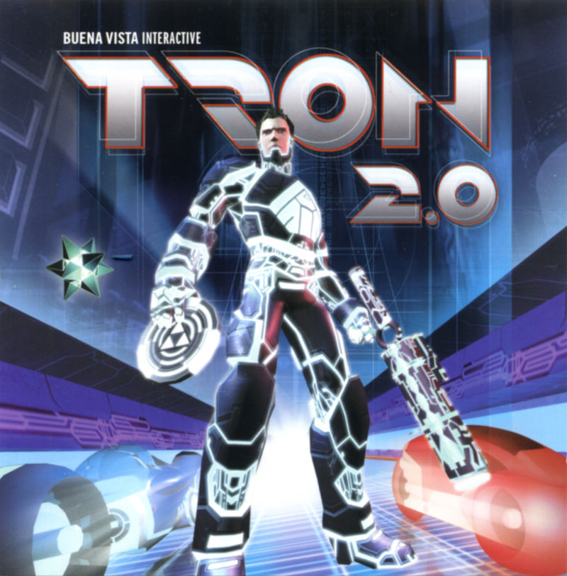 TRON 2.0 Windows Other Jewel Case - Front