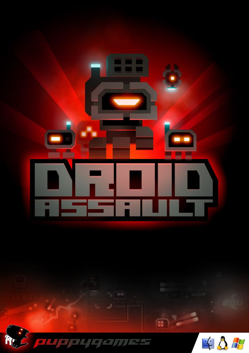 Droid Assault Linux Front Cover