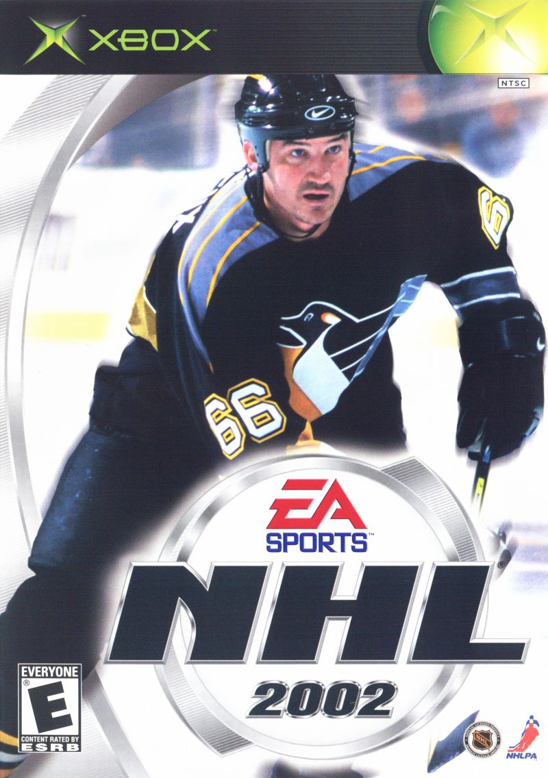 NHL 2002 Xbox Front Cover