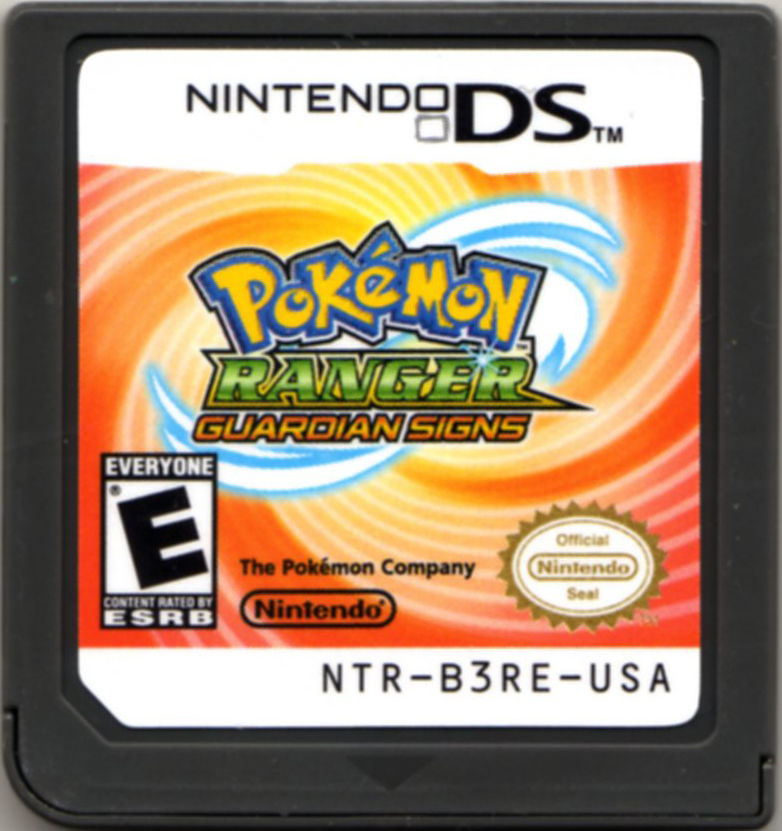 Pokémon Ranger: Guardian Signs Nintendo DS Media