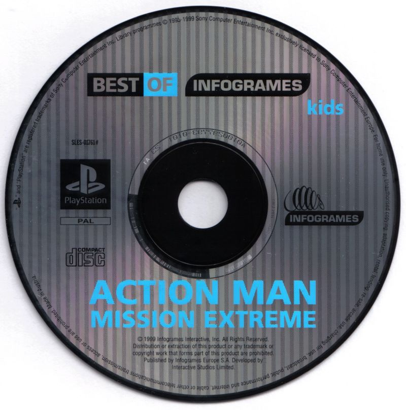 Action Man: Operation Extreme PlayStation Media