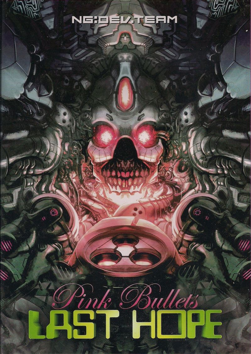 Last Hope Pink Bullets Dreamcast Front Cover