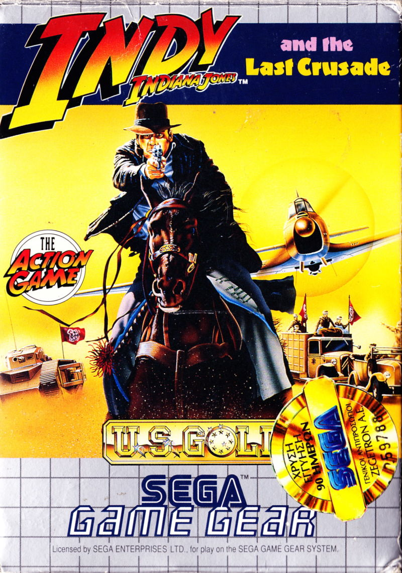 Indiana Jones and the Last Crusade: The Action Game for Game