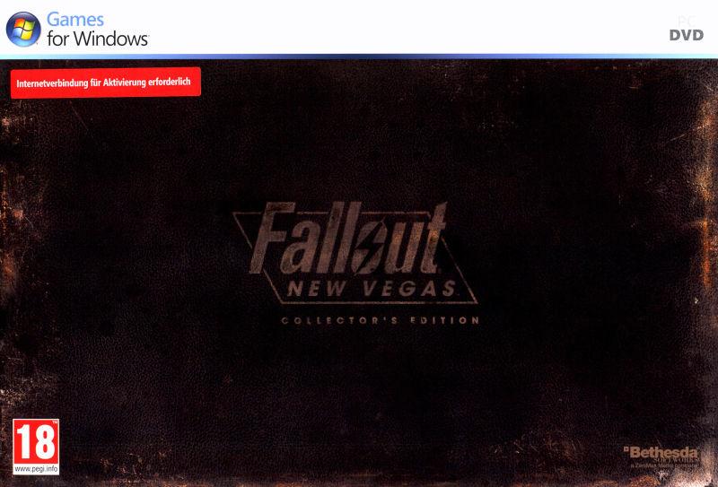 Fallout: New Vegas (Collector's Edition) Windows Front Cover