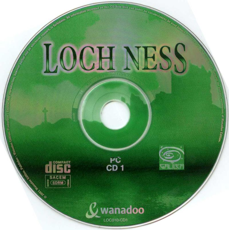 The Cameron Files: Secret at Loch Ness Windows Media Disc 1/2