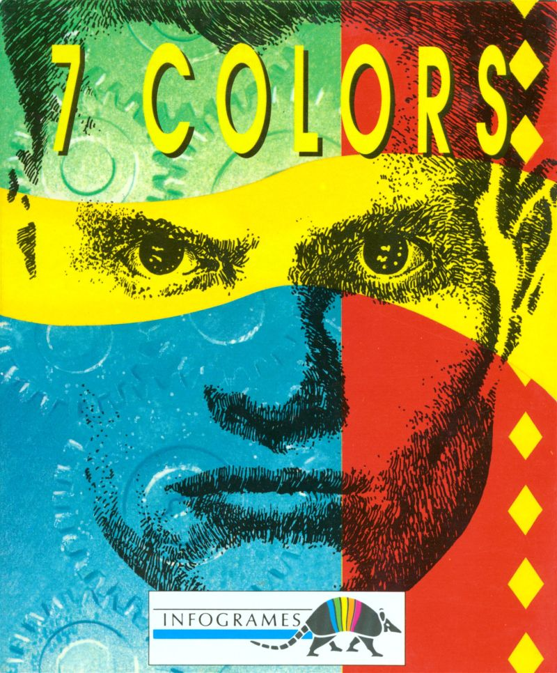 7 Colors Amiga Front Cover