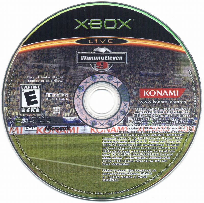 World Soccer: Winning Eleven 9 Xbox Media