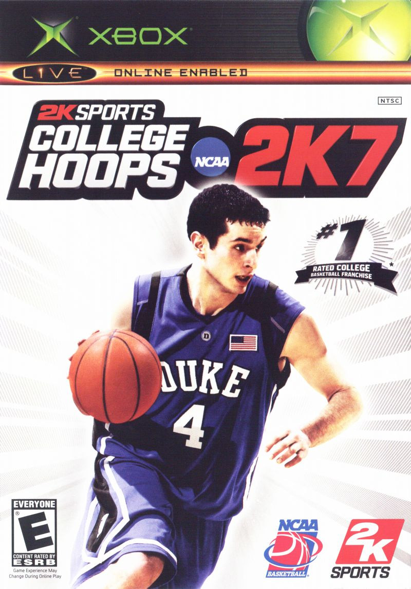 College Hoops NCAA 2K7 Xbox Front Cover