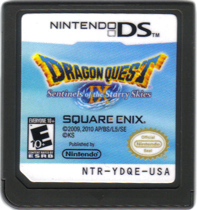 Dragon Quest IX: Sentinels of the Starry Skies Nintendo DS Media