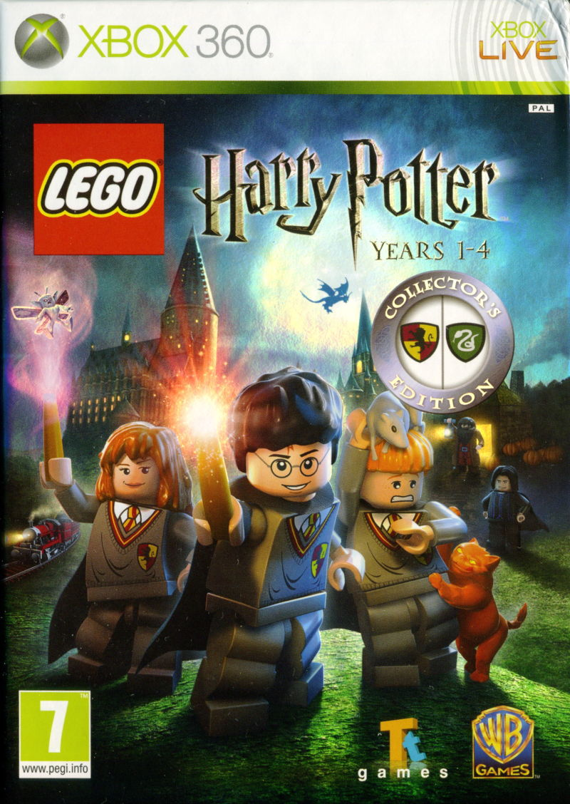 lego harry potter: years 1-4 (collector's edition) (2010