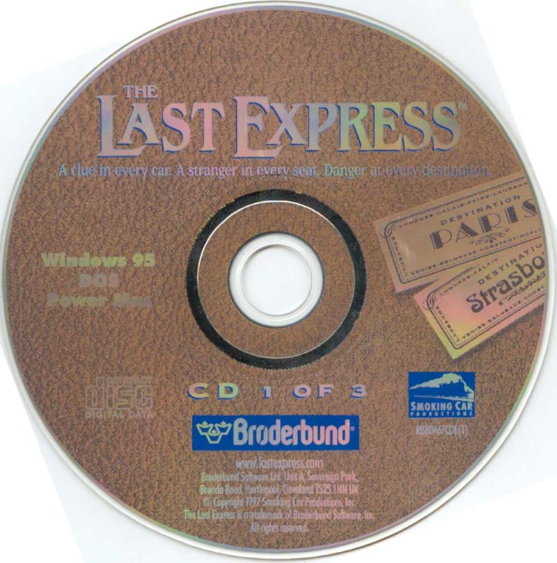 The Last Express DOS Media Disc 1/3