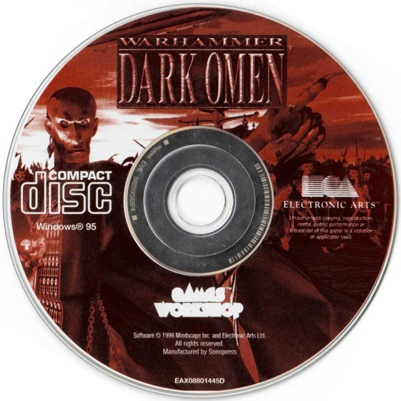 Syndicate Wars + Warhammer: Dark Omen Windows Media Warhammer: Dark Omen