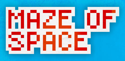 Maze of Space Macintosh Front Cover