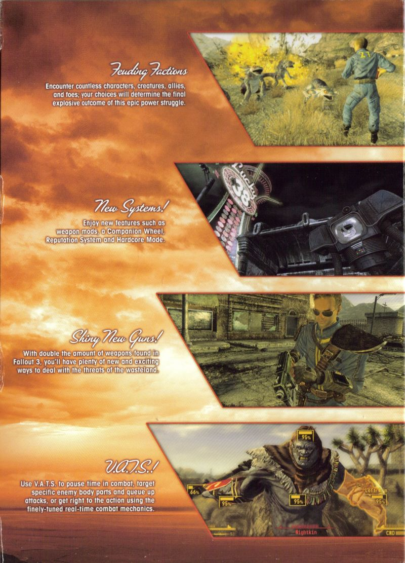 Fallout: New Vegas Windows Inside Cover Right