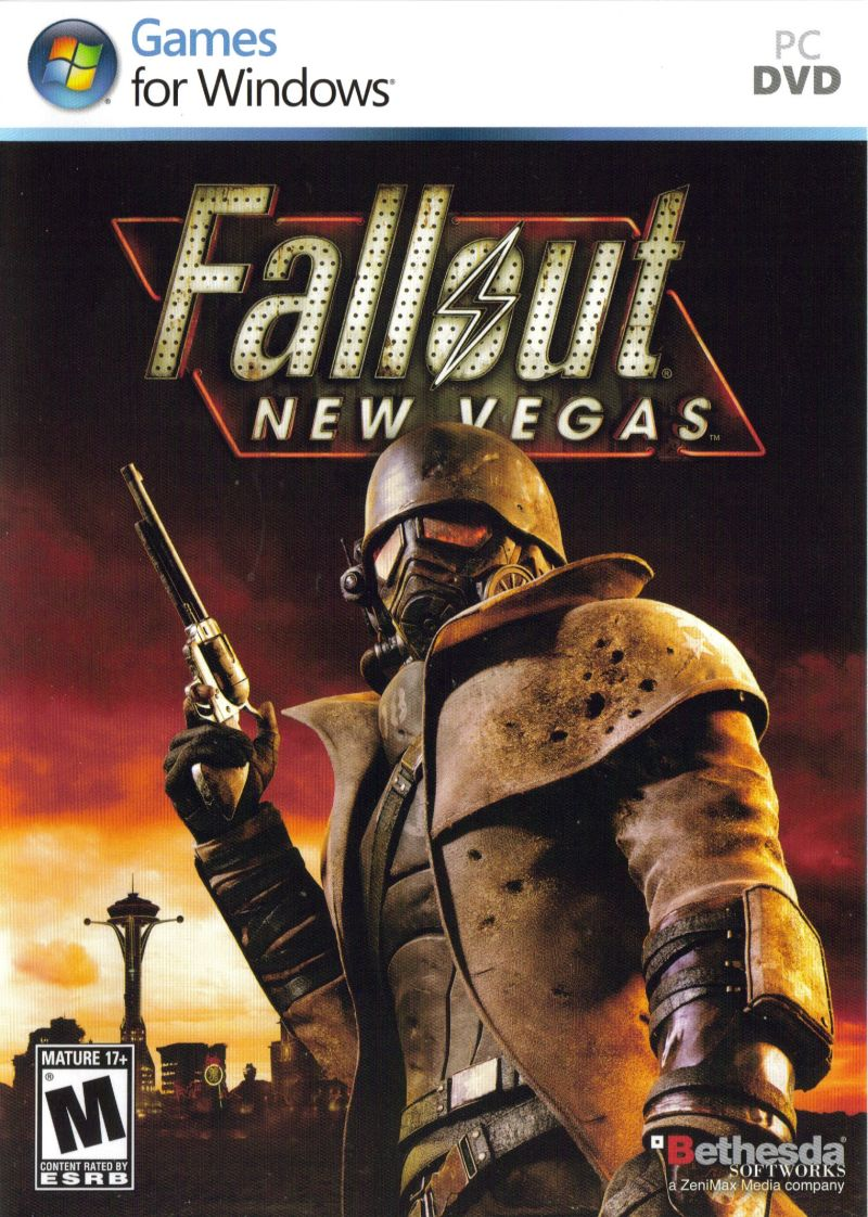 Fallout: New Vegas Windows Other Keep Case - Front Cover