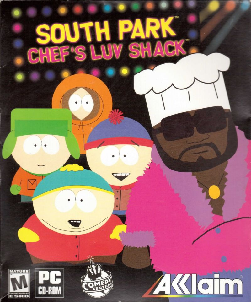 South Park: Chef's Luv Shack Windows Front Cover